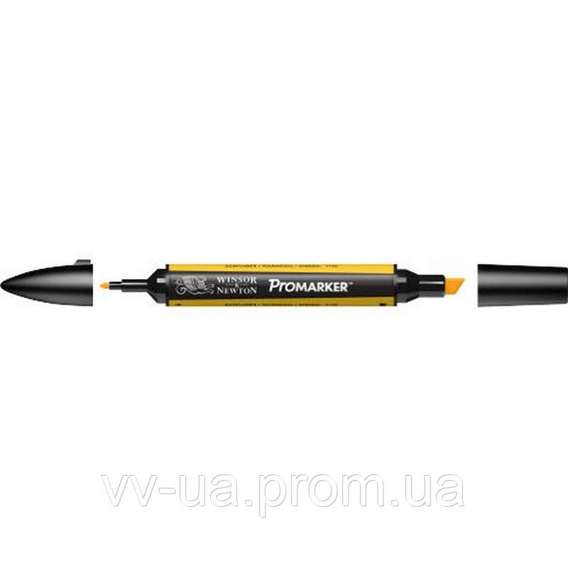 Маркер Winsor & Newton ProMarker, Желтый подсолнух y156, перм.прозр.