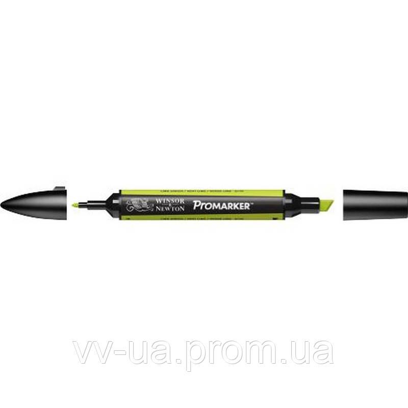 Маркер Winsor & Newton ProMarker, Зеленый лайм g178, перм.прозр.