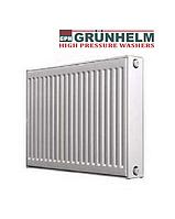 Стальные батареи отопления Grunhelm 22 тип 500*1400 (нижнее  подключение)