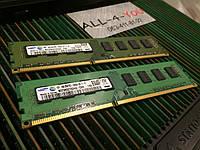 Оперативна пам`ять SAMSUNG DDR3 4GB PC3 10600U 1333mHz Intel/AMD