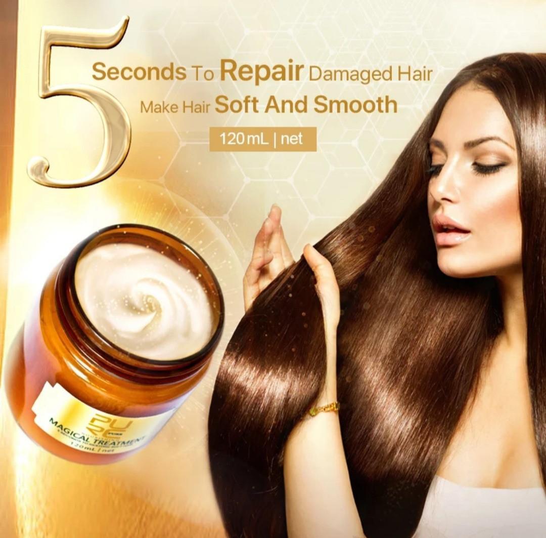 Профессиональная восстанавливающая маска для волос Magical Treatment с аргановым маслом и кератином 120 ml, фото 1