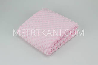 Плюш Minky светло розовый 100*80см