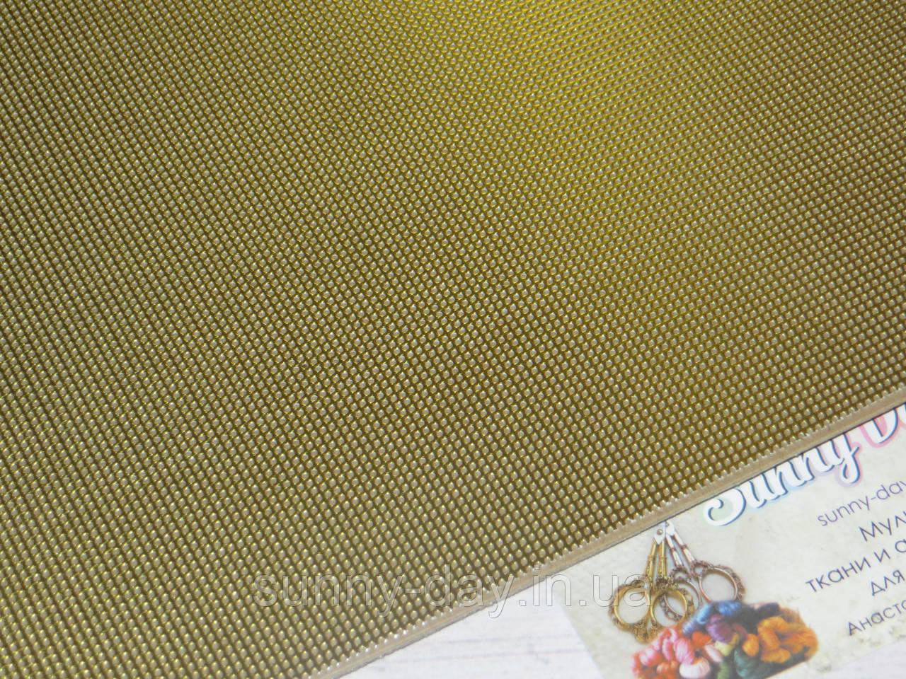 Перфорированная бумага для вышивки Mill Hill, цвет - золотой металлик