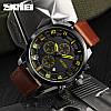 • Оригинал! Мужские часы Skmei (Скмей)1309 Braun | Классические Мужские часы, фото 2