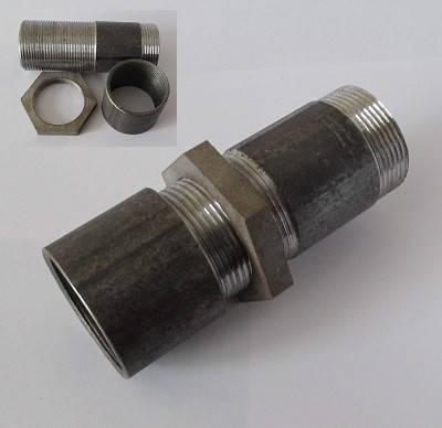 Сгон стальной в сборе 32 мм, фото 2