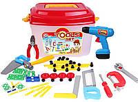 Набор Инструментов Технок чемодан, Инструменты Детские Игрушечные в чемодане 4395, 009351, фото 1