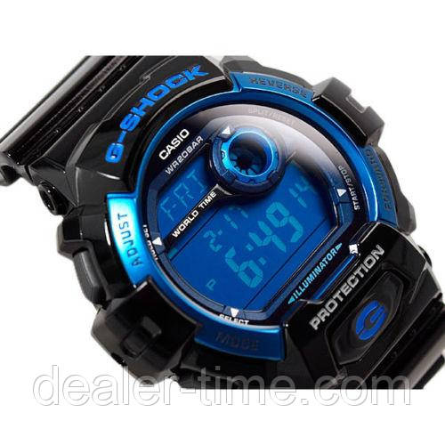 online store 0054c 582fa Casio G-Shock Black with Blue -G8900A-1E