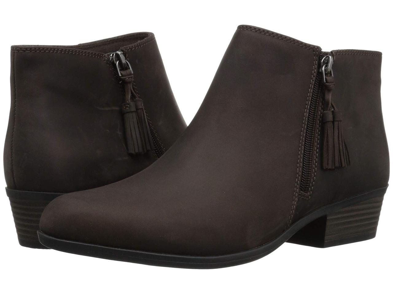 Ботинки/Сапоги (Оригинал) Clarks Addiy Terri Taupe Leather