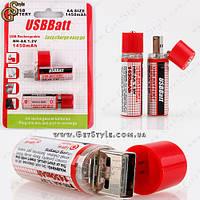 "USB-аккумуляторы 1450 mAh - ""USB Batt"" - 2 шт., фото 1"