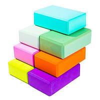 Йога блок 23*15*7,5 см, блок для йоги
