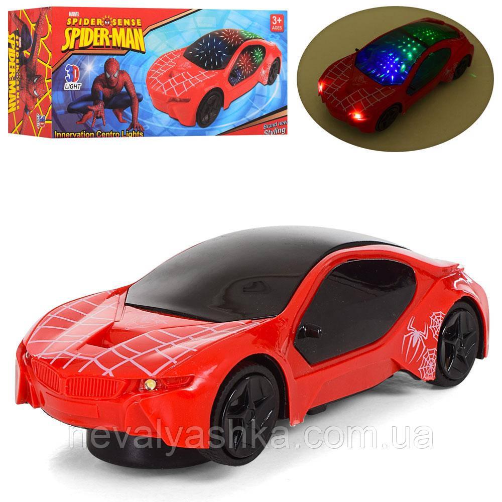 Машинка музыкальная светится ездит музыкальная 3D свет, 6108, 007243