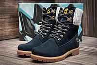 Зимние ботинки Timberland, темно-синий (3932-3),  [  36 (последняя пара)  ]