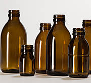 Стеклянные флаконы, бутылочки