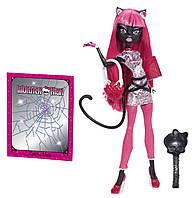 Кукла Monster High Кэтти Нуар Скарместр - New Scaremester Catty Noir