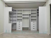 Шкаф купе в гардеробную с дверями купе. Гардеробная комната G-0014, фото 1