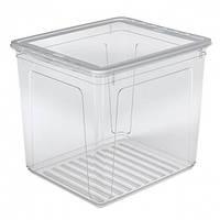 KEEEPER Ящик для хранения Clearbox 30л с крышкой 2236