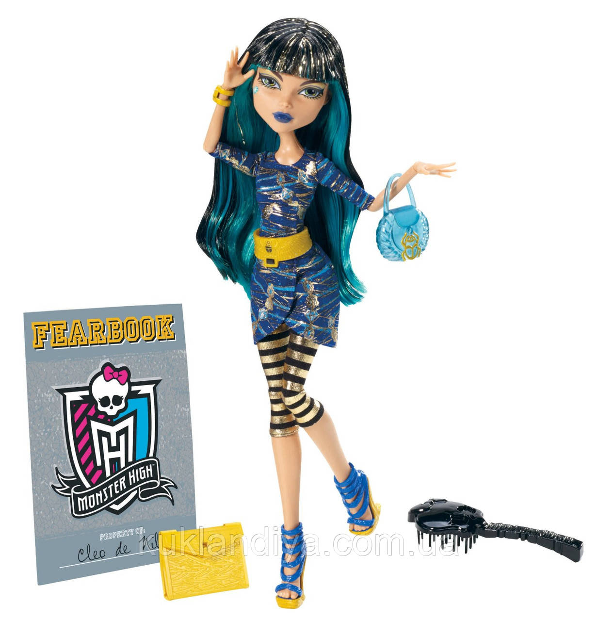 Кукла Monster High Клео де Нил День фото - Picture Day