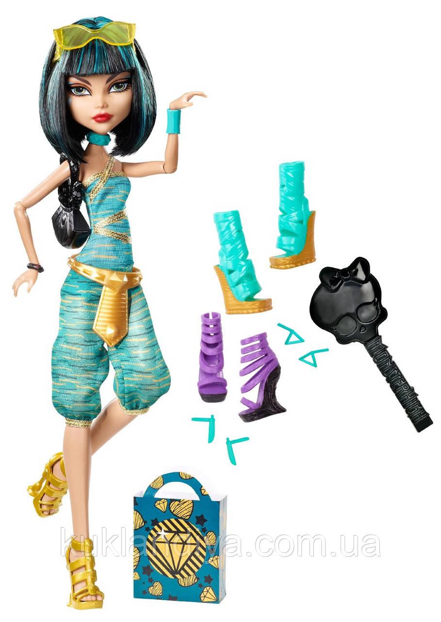 Кукла Monster High Клео де Нил я люблю обувь - Cleo De Nile Doll & Shoe Collection