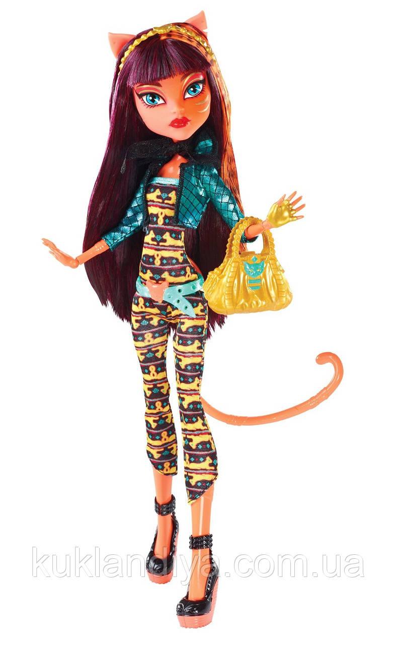 Кукла Monster High Клеолей Чумовое слияние - Freaky Fusion Cleolei