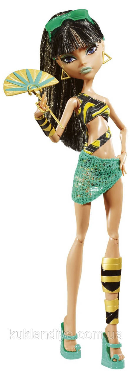 Кукла Monster High Клео де Нил Мрачный пляж - Gloom Beach Cleo De Nile