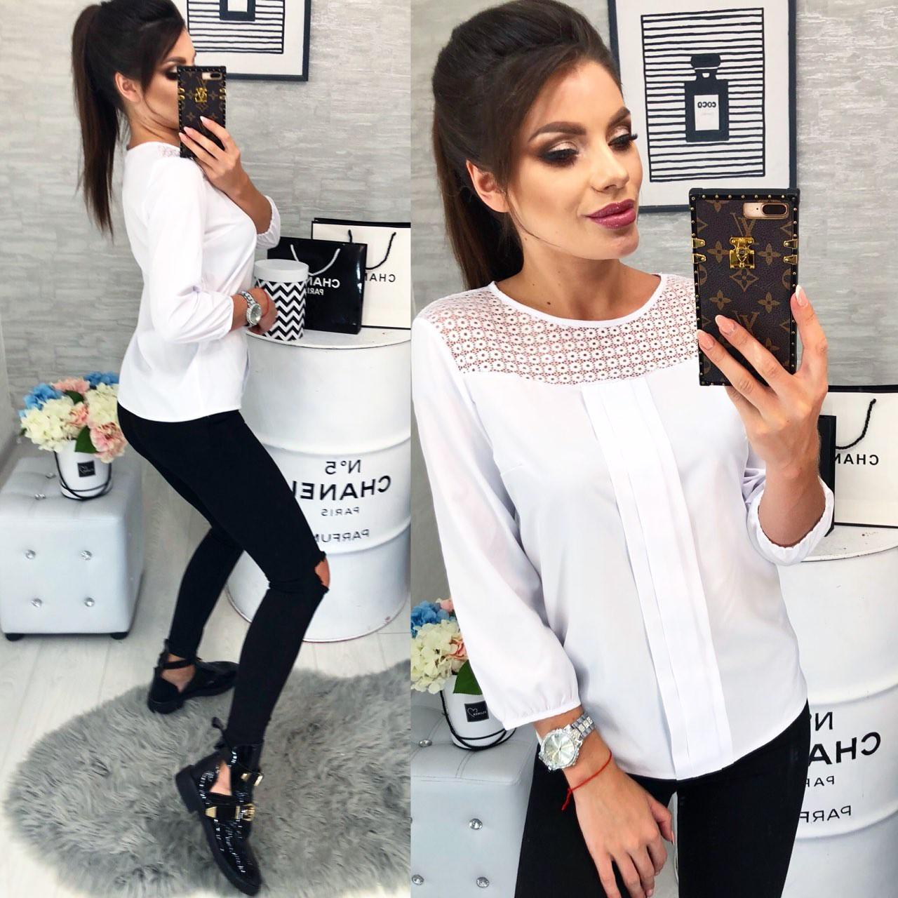 Блуза женская, модель 793/2, цвет - белый