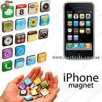 """Набор магнитов iPhone - """"App Magnets"""" - 18 шт."""