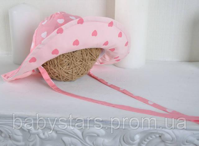 панамка на завязках для девочек