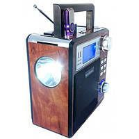 Фонарь радио приемник переносной New Kanon KN 895 FM, USB, Card светодиодный, аккумуляторный, радио