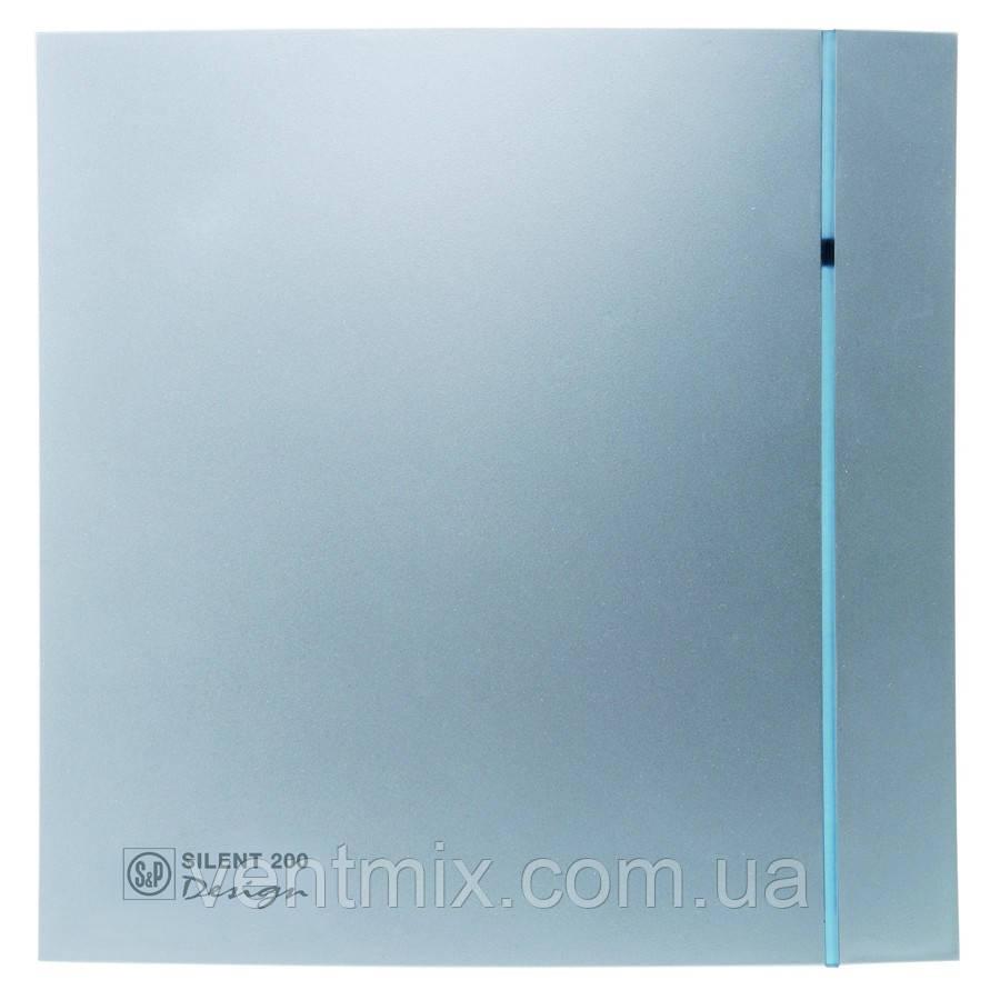 Вентилятор вытяжной Soler & Palau Silent 200 CRZ Design 3C Silver