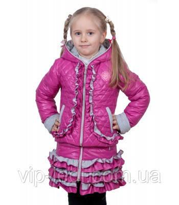 """Весенняя куртка для девочки """"Барби"""", фото 1"""