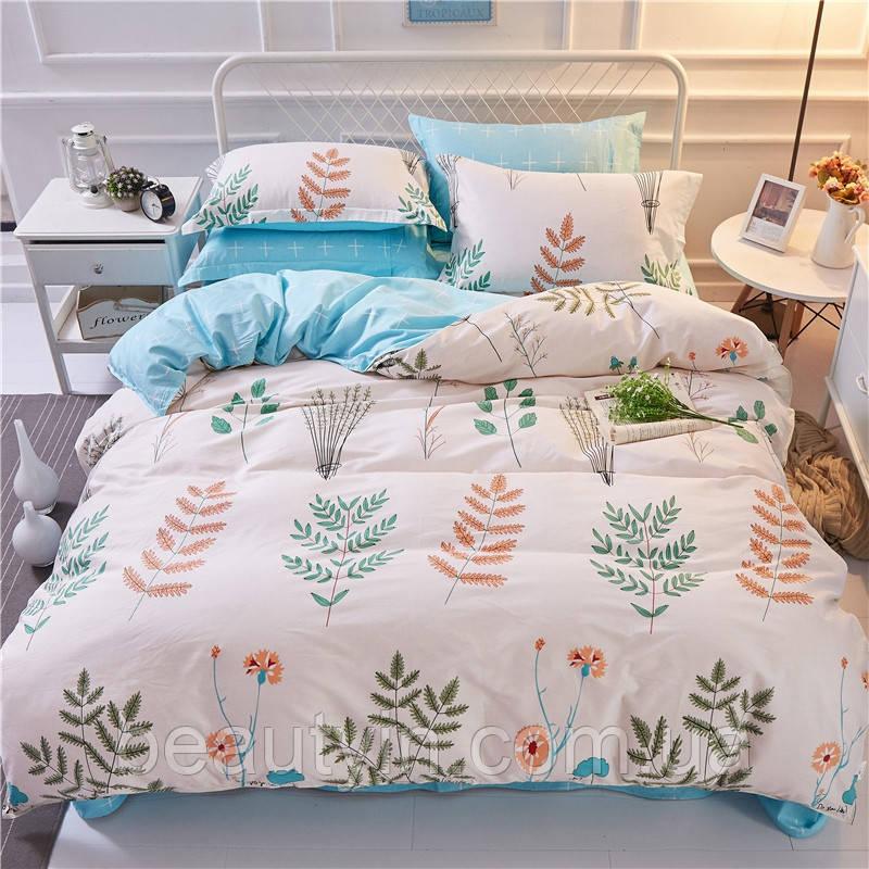Комплект постельного белья Травы (полуторный+) Berni