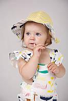 Ромперы Мальта и панамки к ним - обзор на ребенке