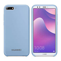 Чехол Original Soft Touch Case for Huawei Y3 II 2017 Sky Blue