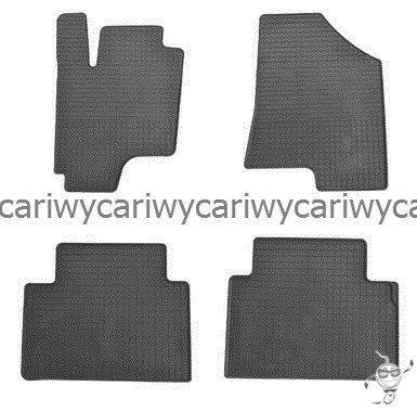 Коврики резиновые в салон Hyundai IX35 10-/Kia Sportage 10- 4шт. Stingray