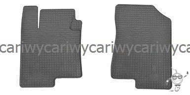 Коврики резиновые в салон Hyundai Sonata NF 05-/YF 11-/Kia Magentis 06-/Optima 12- 2шт. Stingray
