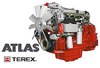 Ремонт двигателя экскаватора Atlas Атлас