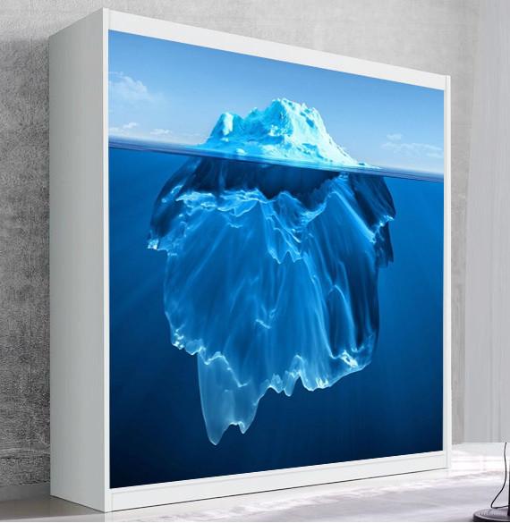 Шкаф для вертикальной кровати Small Double Iceberg