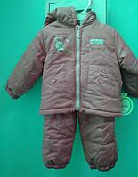 BEBESSI Комплект курточка, штаны 74-80(р) дев. Розовый 1405
