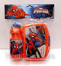 "Набор ""Spiderman (Человек паук)"". Ланч бокс (ланчбокс) + бутылка, фото 3"
