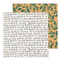 Папір двосторонній - MISTLETOE -  Merry Days - Crate Paper - 30х30