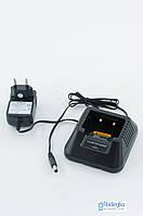 Оригинальное зарядное устройство для рации BAOFENG UV-5R (Стакан+Адаптер). Зарядний пристрій для Baofeng 5r.