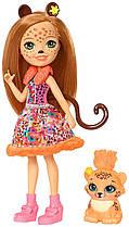Кукла Enchantimals Энчантималс Чериш Гепард и Квик-Квик Cherish Cheetah Doll & Quick-Quick
