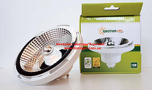 Лампа светодиодная Spectrum LED AR111 15W/830 GU10 230V