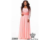 Платье вечернее - 23869 размер ун 48-54 (бн)