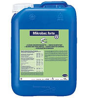 Микробак форте, средство для дезинфекции и очистки, 5 л.