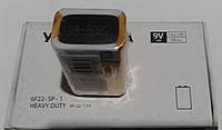 Батарейка солевая крона (упаковка10шт.) Yokohama 6F22 SP-1 9V HEAVY DUTY
