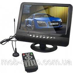 """Портативний телевізор 7"""" USB+батарея"""