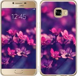 """Чехол на Samsung Galaxy C5 C5000 Пурпурные цветы """"2719c-301-328"""""""