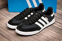 Кроссовки мужские Adidas Jeans, черные (2526-4),  [  43 44 45  ]