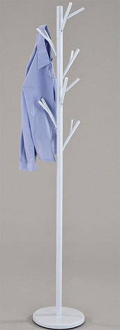 Напольная вешалка для одежды CH-4762-WT белая, фото 2